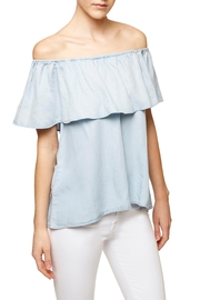 Sanctuary Off  Shoulder Blouse - Front cropped