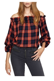 Sanctuary Ots Plaid Top - Product Mini Image
