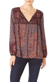 Sanctuary Patchwork Boho Blouse - Product Mini Image