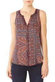 Sanctuary Patchwork Craft Shell Top - Product Mini Image