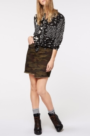 Sanctuary Patchwork Uptown Blouse - Side cropped