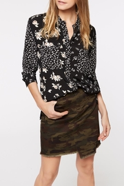 Sanctuary Patchwork Uptown Blouse - Front cropped