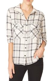 Sanctuary Plaid Boyfriend Shirt - Product Mini Image