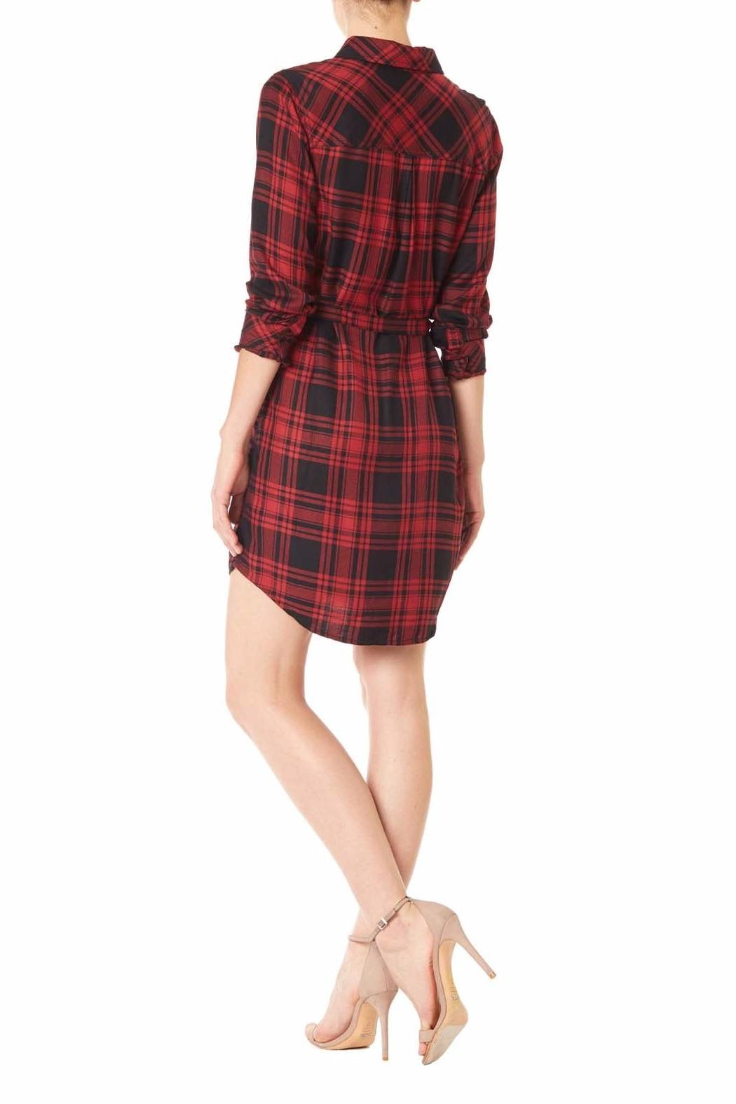 Sanctuary plaid shirt dress from florida by marketplace on for Red plaid dress shirt