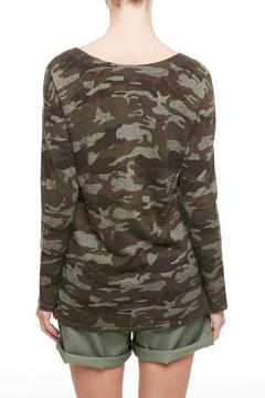 Shoptiques Product: Printed Camo Sweater