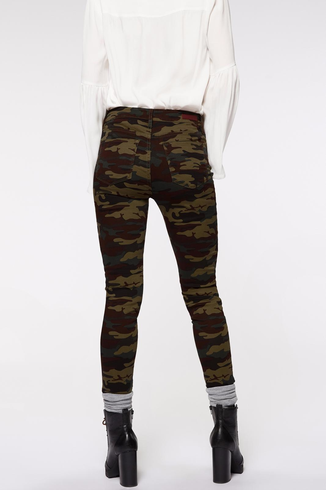 Sanctuary Robbie High Skinny Jeans - Front Full Image