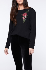 Sanctuary Rose Embroidered Sweatshirt - Front cropped