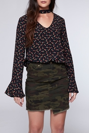 Sanctuary Rose Print Blouse - Product Mini Image