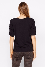 Sanctuary Ruche Sleeve Top - Side cropped