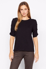 Sanctuary Ruche Sleeve Top - Front full body