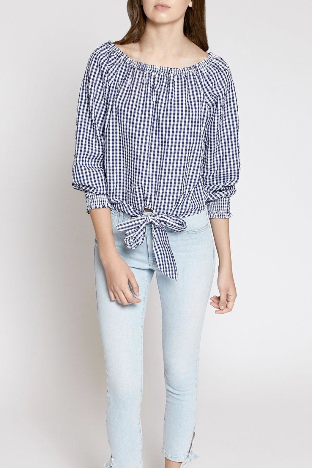 Sanctuary Claire Off-The-Shoulder Top - Front Cropped Image