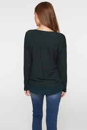 Sanctuary Soft Sweater Tee - Back cropped