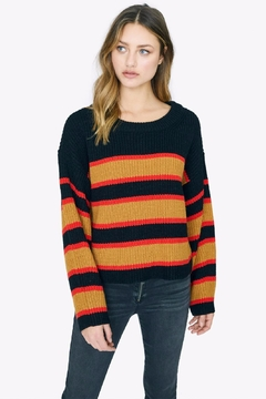 Sanctuary Striped Sweater - Product List Image