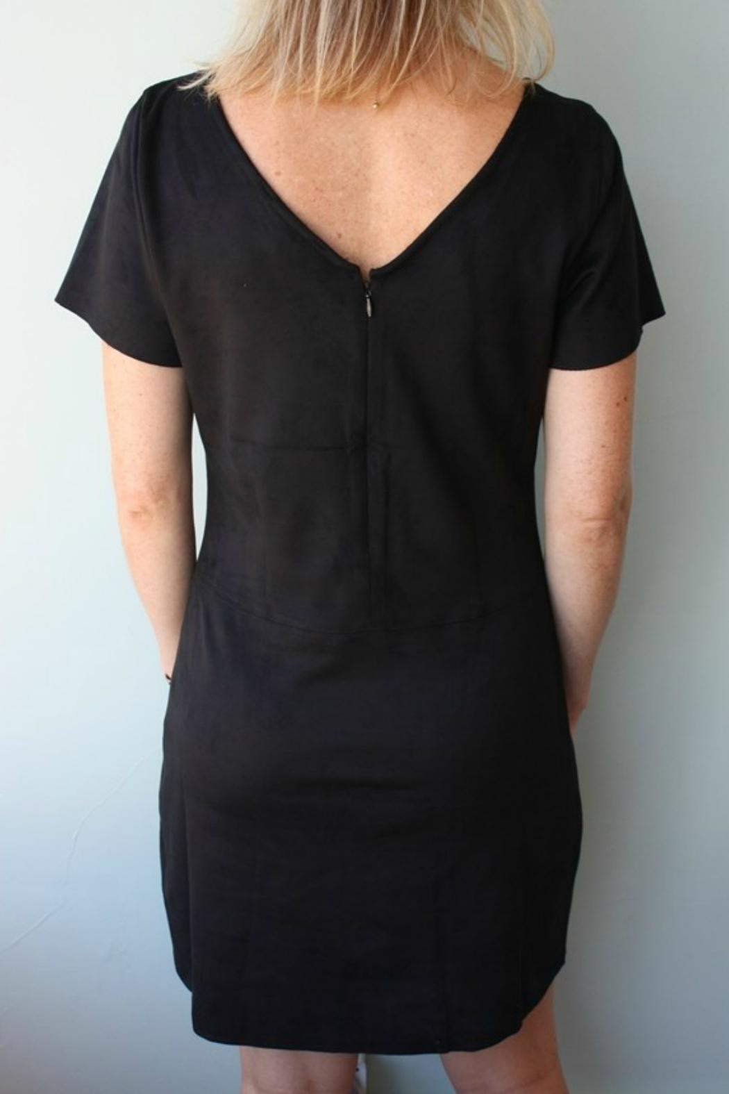 Sanctuary Suede Dress - Side Cropped Image