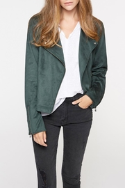 Sanctuary Suede Moto Jacket - Product Mini Image
