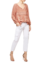 Sanctuary Tie Neck Batik Blouse - Product Mini Image