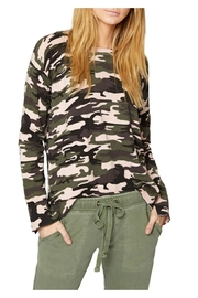 Sanctuary Trixie Camo Sweater - Product Mini Image