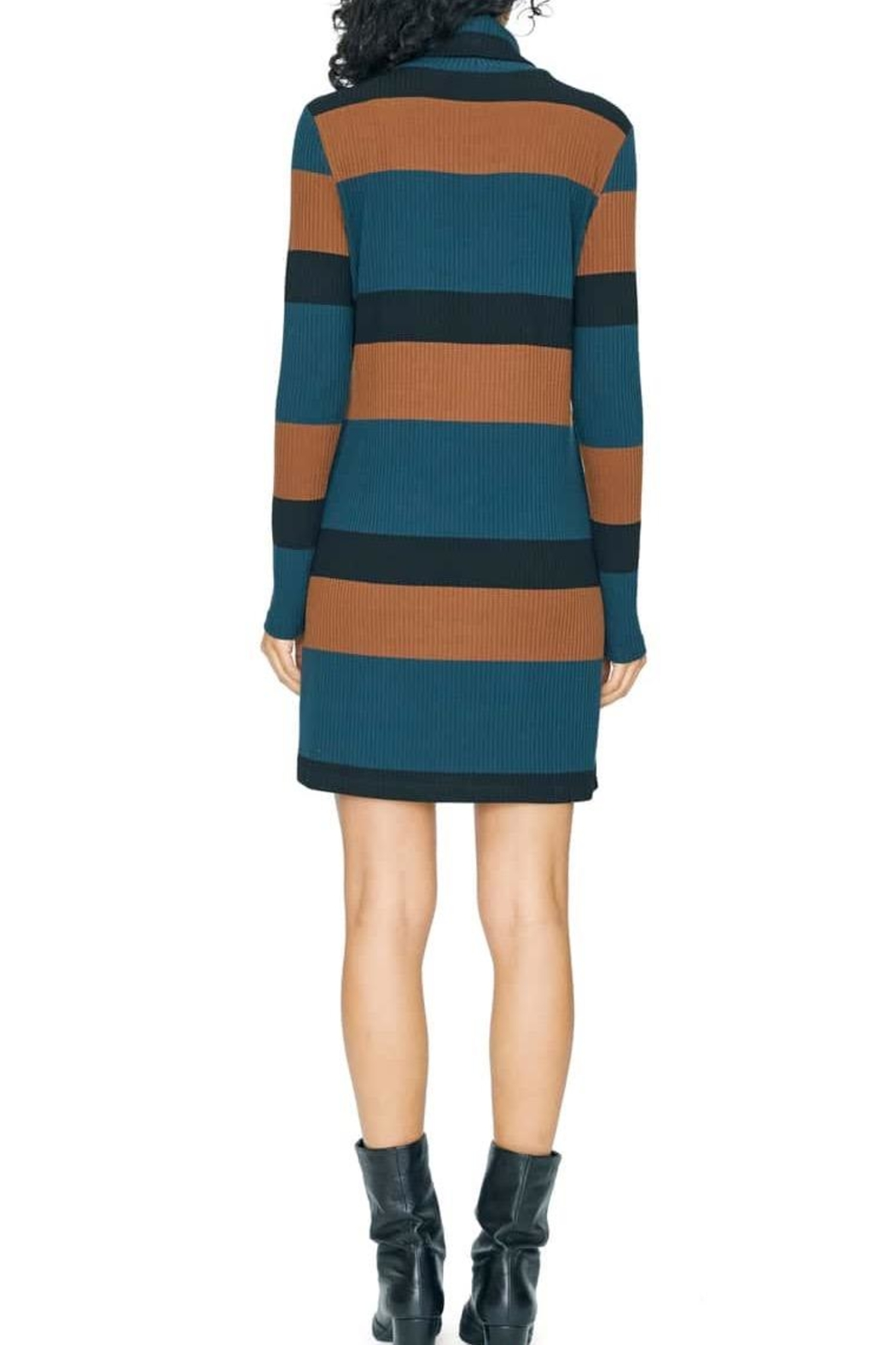 Sanctuary Turtleneck Sweater Dress - Front Full Image