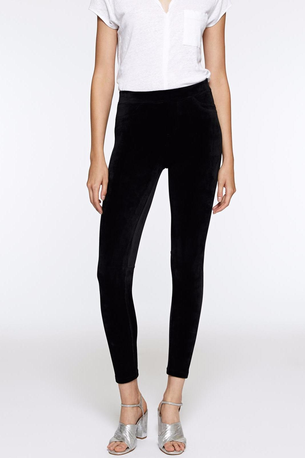 Sanctuary Velour Grease Legging - Front Cropped Image