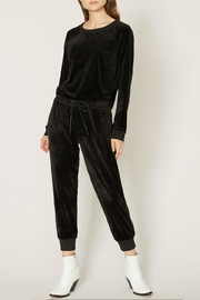 Sanctuary Velour Track Jogger - Front cropped