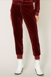 Sanctuary Velour Track Joggers - Product Mini Image