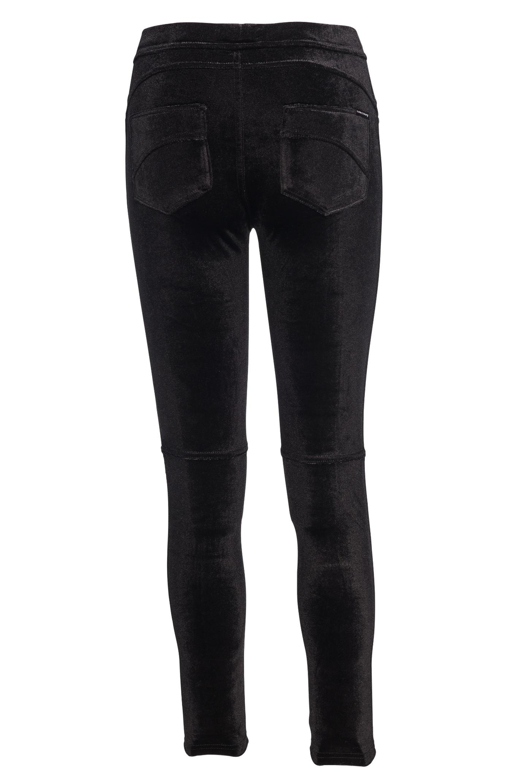 Sanctuary Velvet Grease Legging - Side Cropped Image
