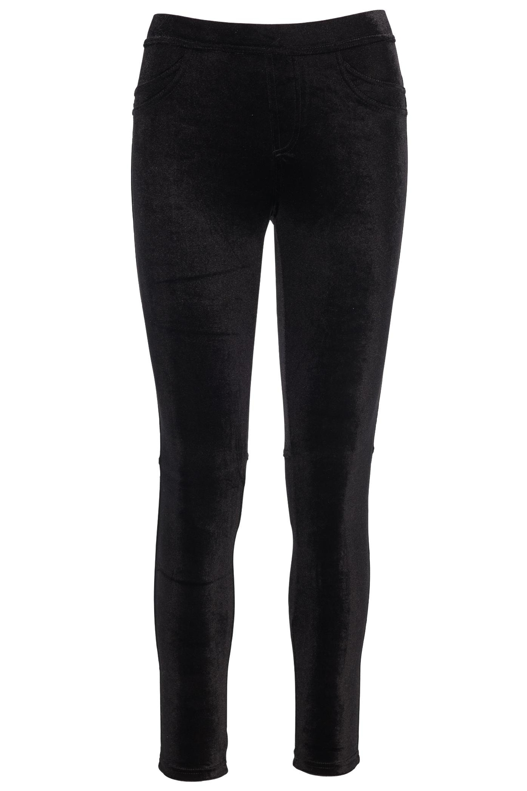 Sanctuary Velvet Grease Legging - Front Full Image