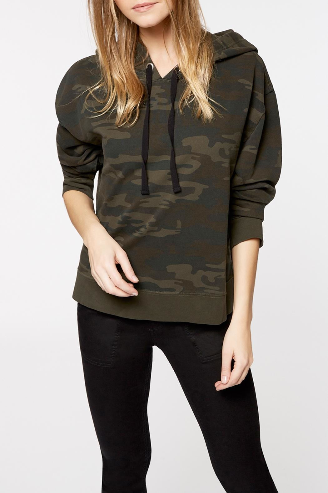 Sanctuary Venice Hoodie Sweatshirt - Front Cropped Image