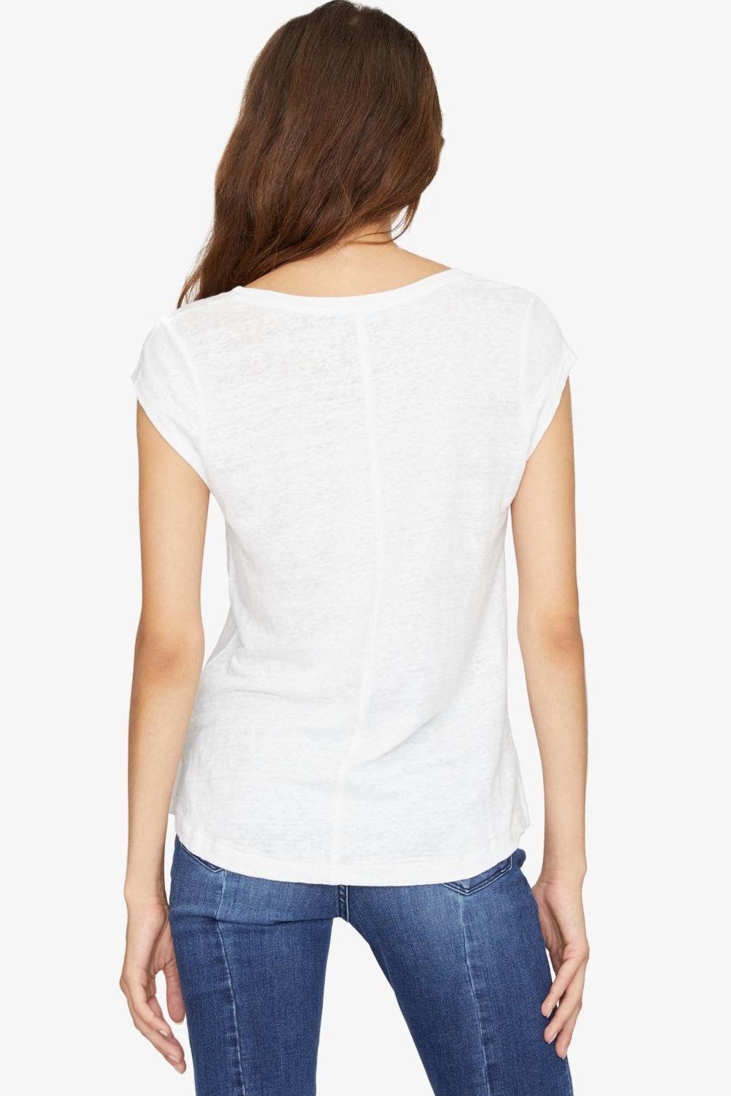 Sanctuary White Alma Tee - Side Cropped Image