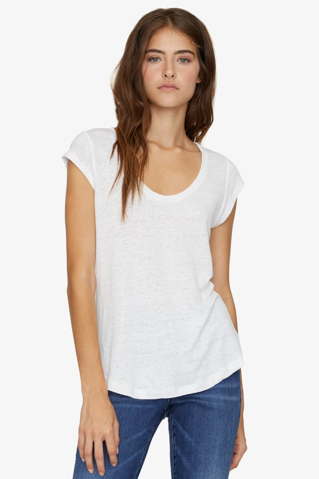 Sanctuary White Alma Tee - Front Cropped Image