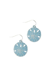 Wild Lilies Jewelry  Sand Dollar Earrings - Product Mini Image