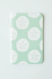 Bradley & Lily Sand Dollar Mini Notebook - Product Mini Image