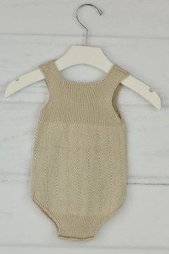 Granlei 1980 Sand Knitted Onesie - Alternate List Image