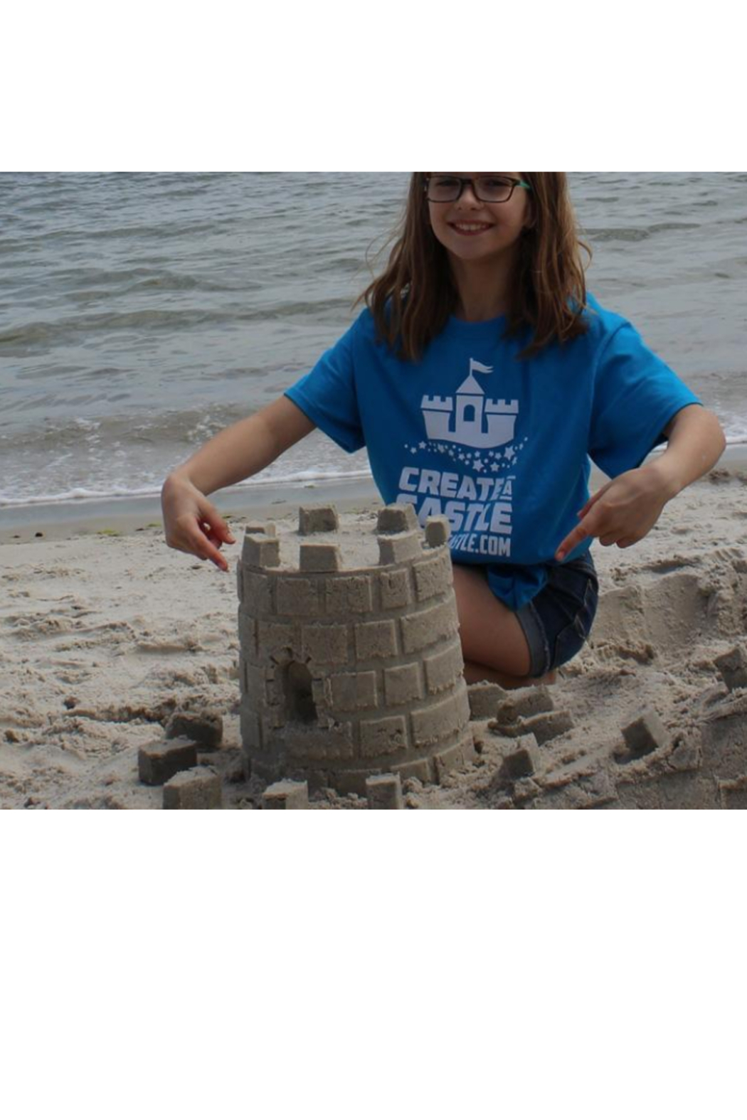 Create A Castle Sand & Snow Castle Kit - Basic Tower - Back Cropped Image