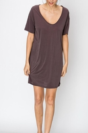 Double Zero Sand-Washed T-Shirt Dress - Product Mini Image