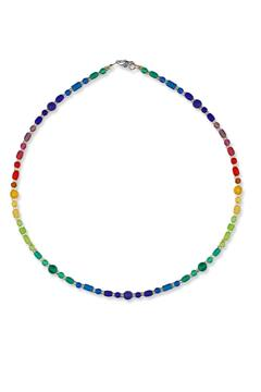 Shoptiques Product: Cipher-Dots Dash Necklace
