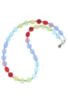 Sand Sea Sun Rainbow Seaglass Necklace - Product List Image