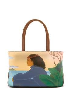 Sandal Tree Hawaii Aloha Leather Tote - Product List Image