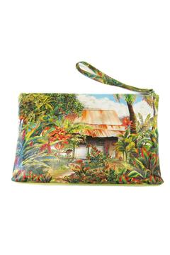 Sandal Tree Hawaii Artistic Leather Pouch - Product List Image