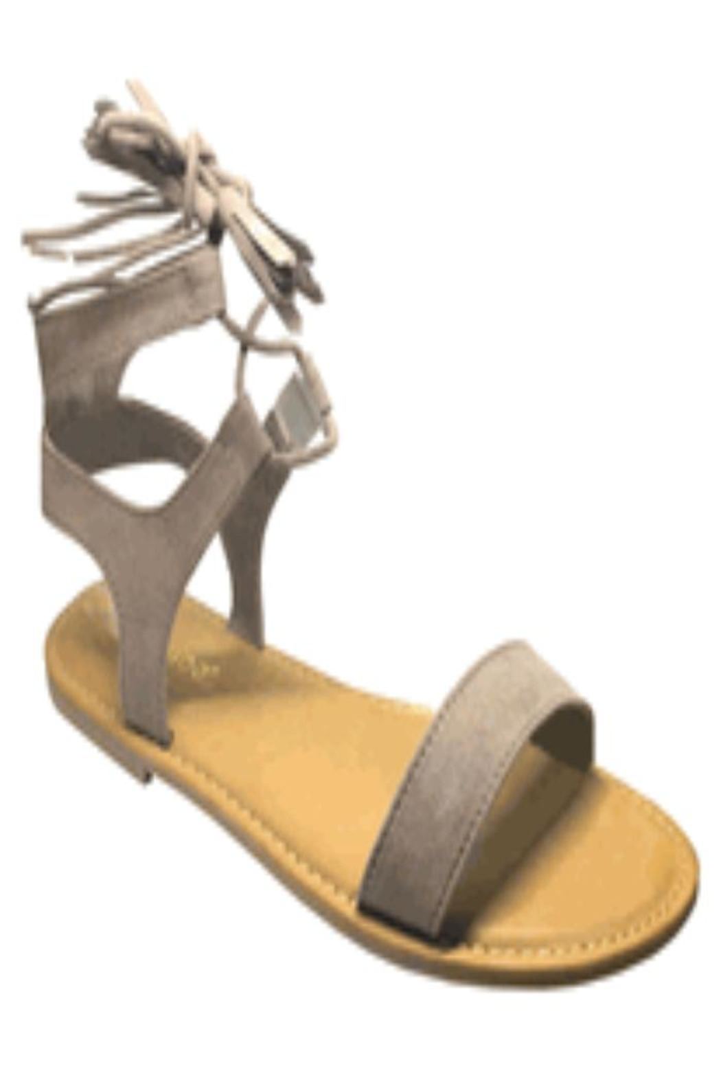 Bamboo Sandals - Front Cropped Image
