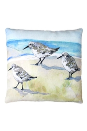 Sally Eckman Roberts Sandpiper Pillow - Product Mini Image
