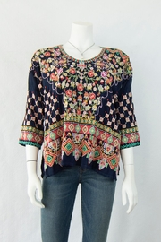 Johnny Was Collection Sandra Blouse - Product Mini Image