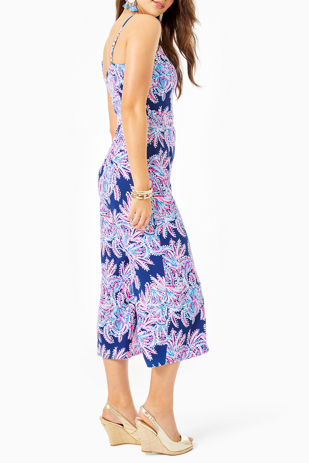 Lilly Pulitzer Sandra Jumpsuit - Front Full Image