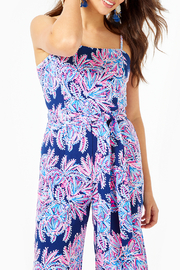 Lilly Pulitzer Sandra Jumpsuit - Back cropped