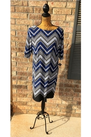 Sandra Darren Chevron Dress - Product Mini Image