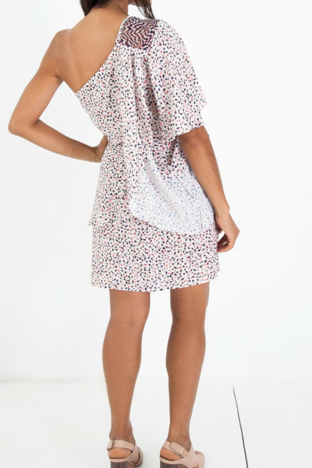 Sandra Weil Charm Multicolor Dress - Front Full Image