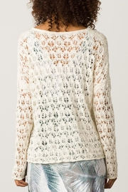 Margaret O'Leary Sandre Lace Vee - Back cropped