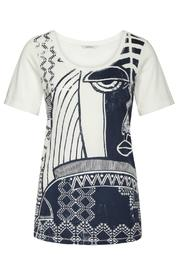 Sandwich Clothing Abstract Cotton Tee - Product Mini Image