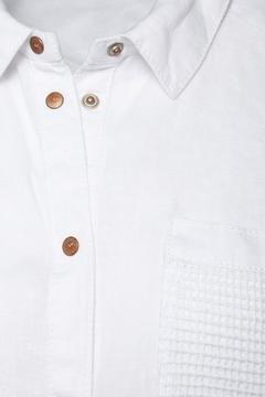 Shoptiques Product: White Linen Shirt