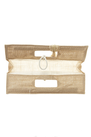 Sandy by the Sea Purse Wine Bag - Front full body
